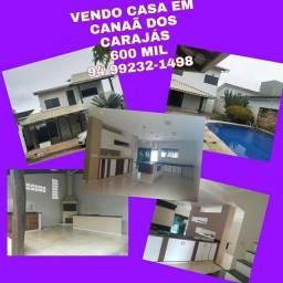 Casa em CANAÃ DOS CARAJÁS  600 mil