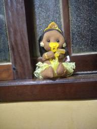 Boneca criança Orixá Oxum