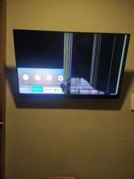 Tv Samsung 49 smart com defeito