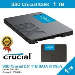 Ssd Crucial BX500  Sata - 1 Tb - Novo - Pronta Entrega