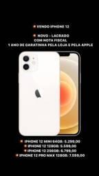 VENDO IPHONE 12 - NOVO - LACRADO