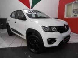 Renault Kwid Zen 1.0 12v 3cilindros Completo Única Dona Branco