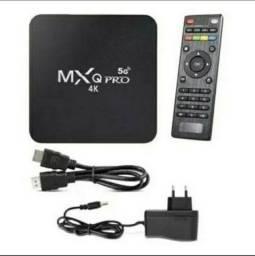 Título do anúncio: Tv box MX PRO - 32GB de RAM e 256GB de Memória Interna