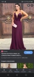 Vestido longo pra festa
