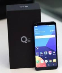 LG Q6 32GB Preto Dual Chip 4G-Câm. 13MP + Selfie 5MP Tela 5,5? Proc.Octa Core