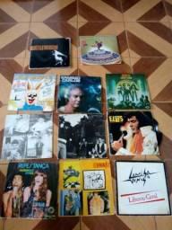 Lote discos vinil LP rock