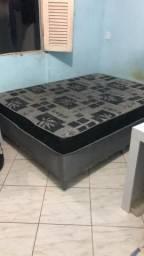Cama box casal - usada