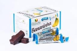 4 Caixas Bananinha Cremosa Sem Açúcar Integral 24 X 30g =96