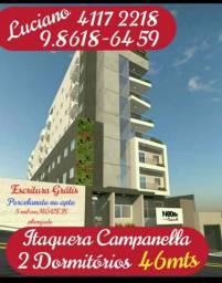 Itaquera Campanella 43 a 75 metros vaga coberta