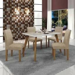 Mesa 4 cadeiras lavinia V238