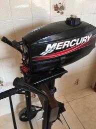 Motor de popa Mercury ano 2014 3.3Hp - R$ 2.900,00