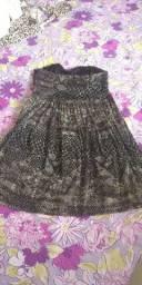 Vendo vestido tomara que caia