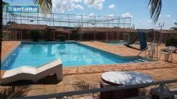 Chale de laje com 3 dormitórios e piscina à venda, 120 m² por R$ 115.000 - Mansões das Águ
