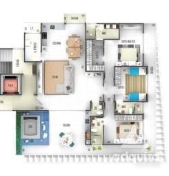 Apartamento com 3 quartos no Edifício The Ocean Residence Guaratuba - Bairro Centro em Gu