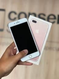 IPhone 7 Plus Rose 32gb, impecável e com garantia de 3 meses! Parcelo até 12x no cartão!
