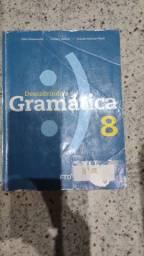 Livro de gramática 8 ano. Valor 40,00