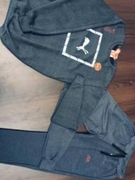 Kit's Impressionantes !!! Blusas de moletom sem capuz + Calças com tecido incrível !!!