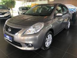 Nissan Versa 1.6 SL, Manual, 2012/2013, Completo, Cinza, 77.000km