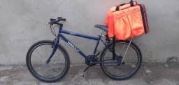 Bicicleta com uma begue