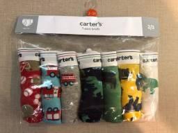 Pacote de cuecas da Carter's NOVO 2/3 anos