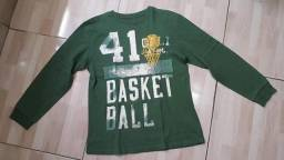 Camiseta manga longa GAP Tam. 12 anos