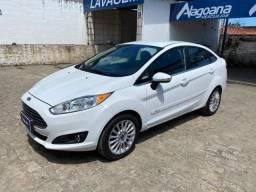 New Fiesta 1.6 sedan Titanium Aut. completo - (alagoanaveiculos)