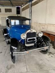 Ford Modelo A Roadster Relíquia Oportunidade 1929