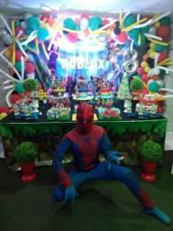Homem Aranha personagem e Recreação