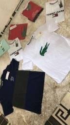 Camisetas ( malha peruana )