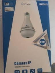 Câmera lâmpada 3 em 1
