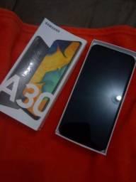 Samsung A30 troco por iPhone