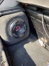 Caixa de som para Fiat Punto + Falante