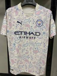 Camisa - Manchester City Jogador 2020 - Lançamento