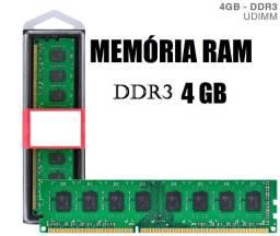 Memória Ram PC Ddr3 4GB