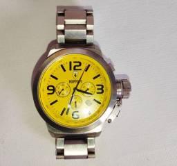 Relógio Ferrari Chrono 02 Amarelo
