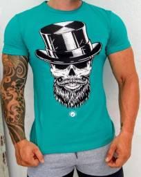 Camisetas masculinas estampadas no ATACADO