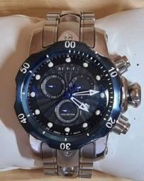 Relógio Invicta Venon fundo e coroa azul original!