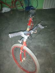 Bicicleta Aro 26 peças trocadas recentemente