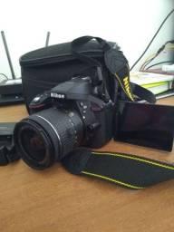 Câmera Profissional Nikon D5300 TROCO POR IPHONE