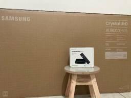Samsung UHD 4K 50 polegadas + Android TV Streaming Box 4K