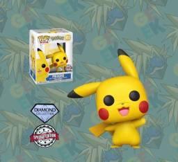 Título do anúncio: Funko Pop! Games - Pokémon - Pikachu #553 - Exclusivo Selo Diamond Collection
