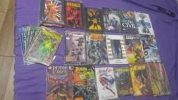 Título do anúncio: HQS Marvel, DC e outros