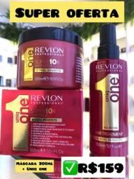 Máscara de hidratação Revlon Uniq one + leave-in