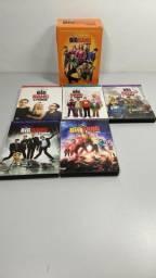 Box 16 Dvds Série The Big Bang Theory Temporadas 1 A 5