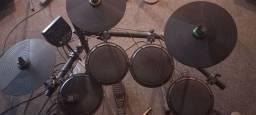 Título do anúncio: ION Audio Pro Session Drums IED12 - Conjunto de Bateria Eletrônica Pesada<br><br><br><br>