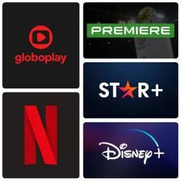 Título do anúncio: Netflix Globoplay Disney Premiere E Star+