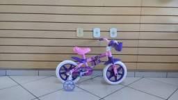 Bicicleta infantil Aro 12 Masculina e Feminina