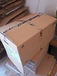 Título do anúncio: Caixas de papelão seminovas/usadas/mudança