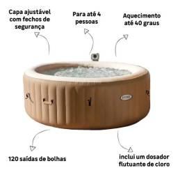 Spa Inflável Redondo Purespa Bubbles 795l 127v(110v) Intex