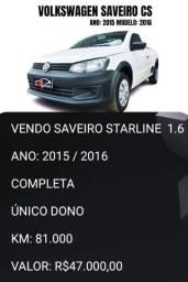 Título do anúncio: SAVEIRO STARLINE 2015/2016